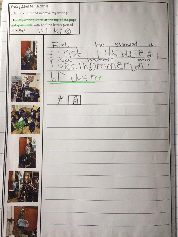Fabulous recount writing in Fir class
